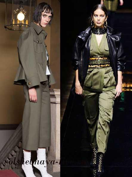 Пиджаки женские модные пыльный хаки