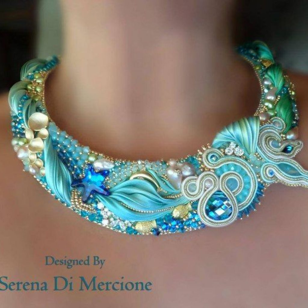 diy сделай сам украшение-ожерелье