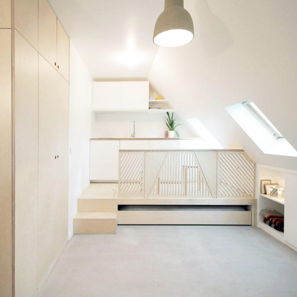 дизайн маленькой квартиры студии ф