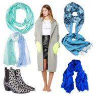 К серому пальто какой цвет шарфа подобрать