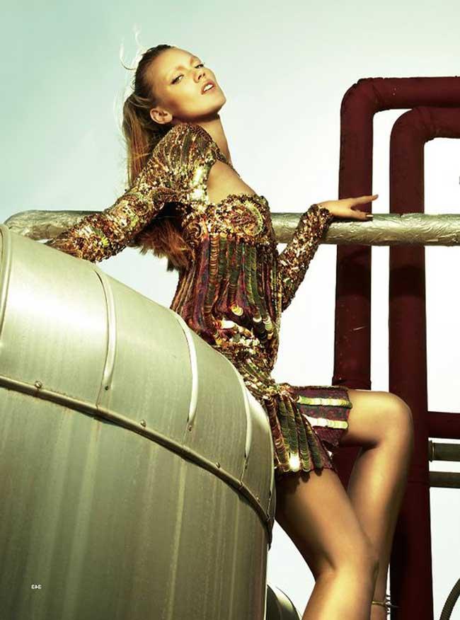 фото платья золотом