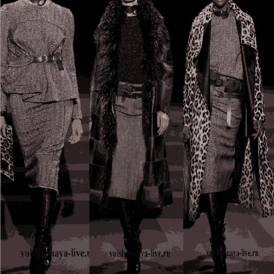 Показ стильной верхней одежды от Том Форд осень-зима 2017