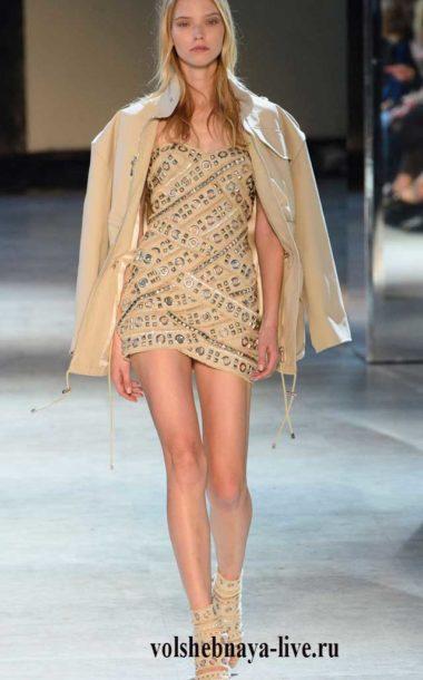Alexandre Vauthier Haute Couture. Образ в телесном цвете