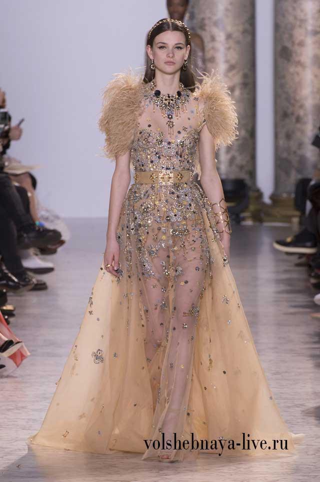 Couture Весна-лето 2017 показ вечерних платьев