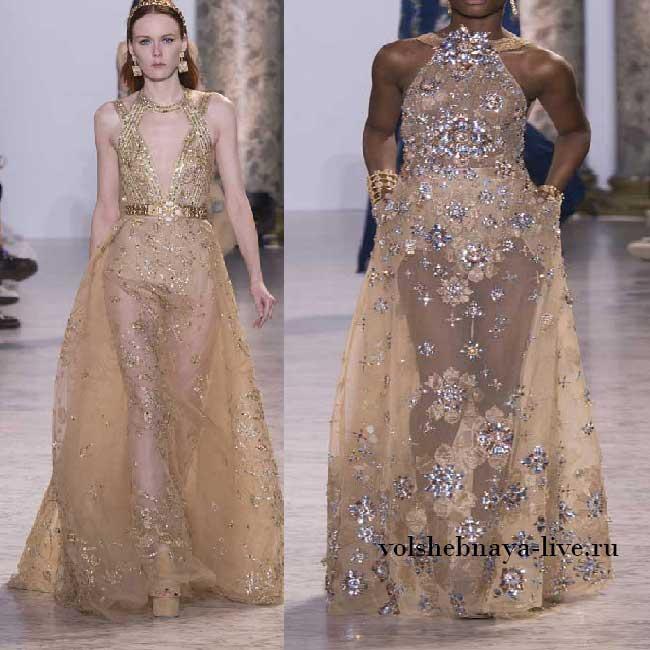 Шикарная коллекция от Elie Saab Haute Couture Весна-лето 2017