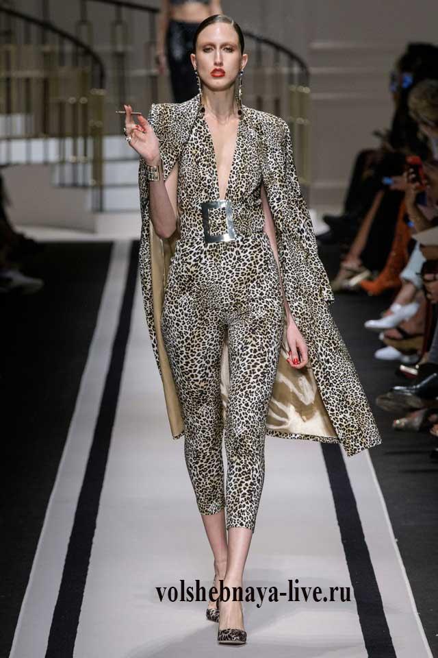 Тотал леопардовый лук от Элизабета франчи