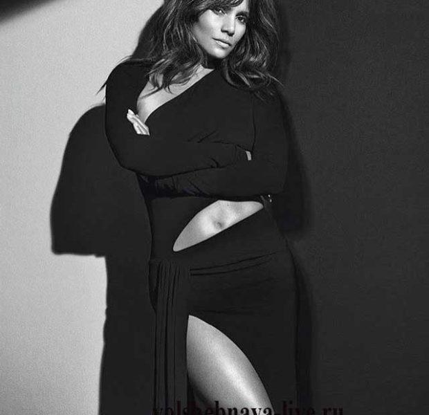 Holly Berry в черном платье А. Вотье