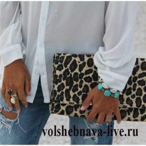 Как носить леопардовую сумку в повседневных образах