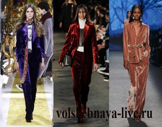 Дизайнерские пиджаки из бархата женские