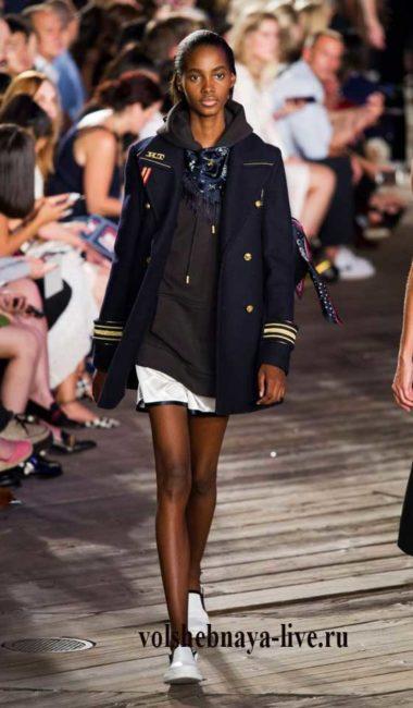 Tommy Hilfiger 2016 двубортный пиджак женский