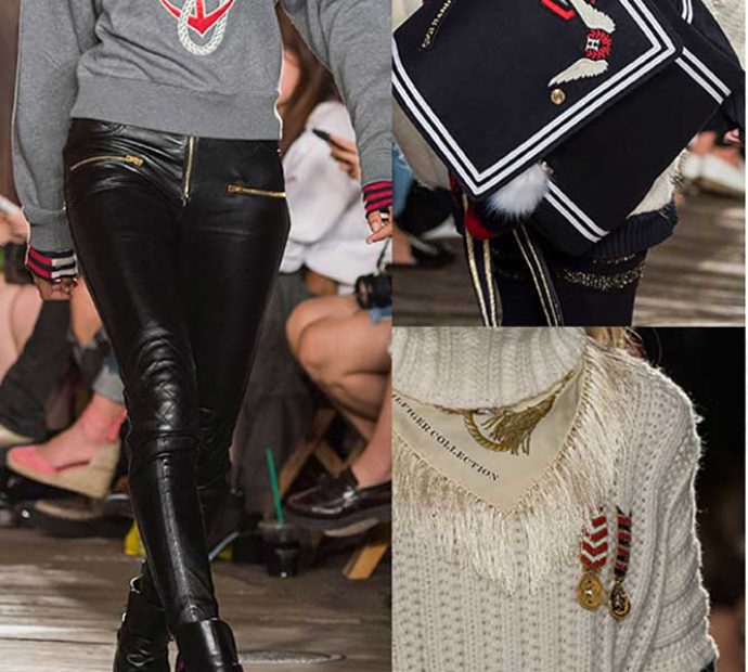 Вдохновение морским стилем-Tommy Hilfiger fashion show fall 2016 ready to wear