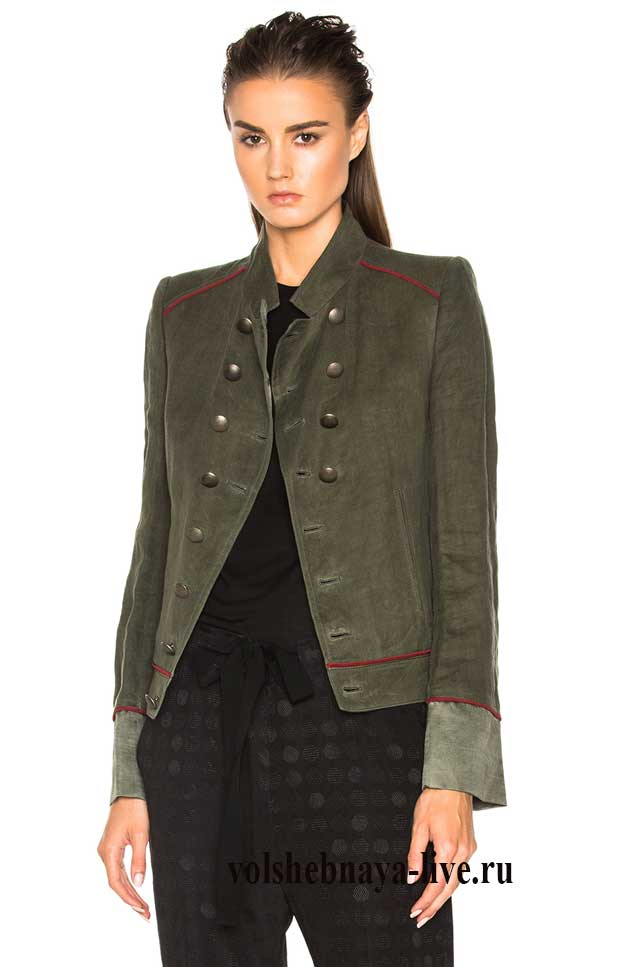 пиджак арми грин
