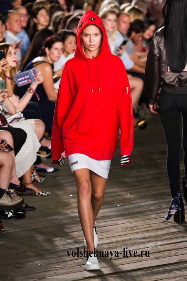 Спортивная кофта Hilfiger fashion 2016 ready to wear
