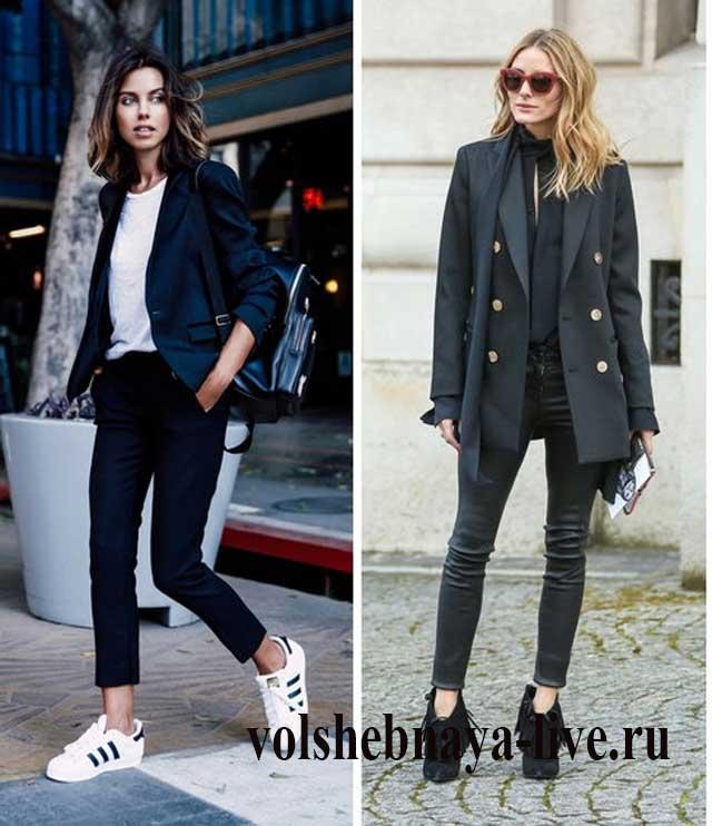 Модные блогеры выбирают модели в синем цвете.