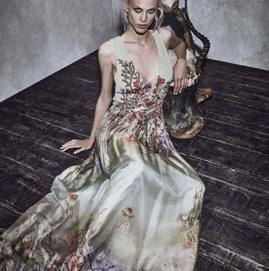 Alberta Ferretti look-book коллекции resort 2017 ready to wear