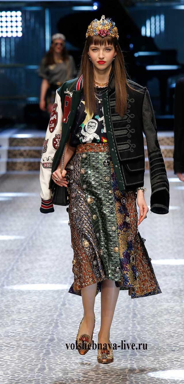 Dolce & Gabbana пиджак в гусарсом стиле 2018