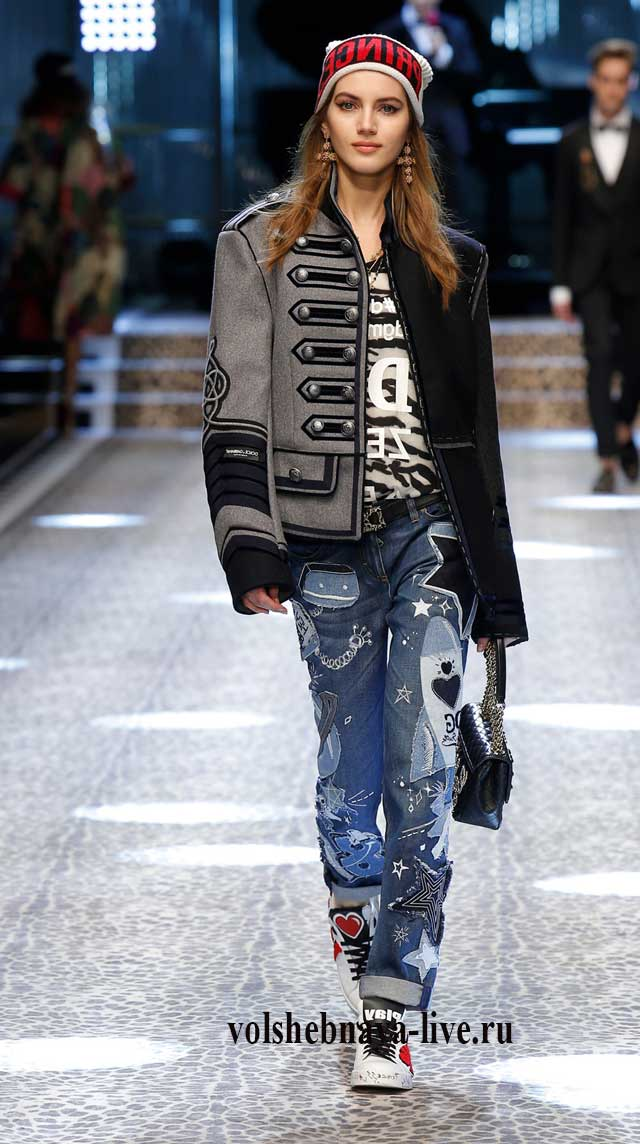 Dolce & Gabbana черно серый гусарский пиджак