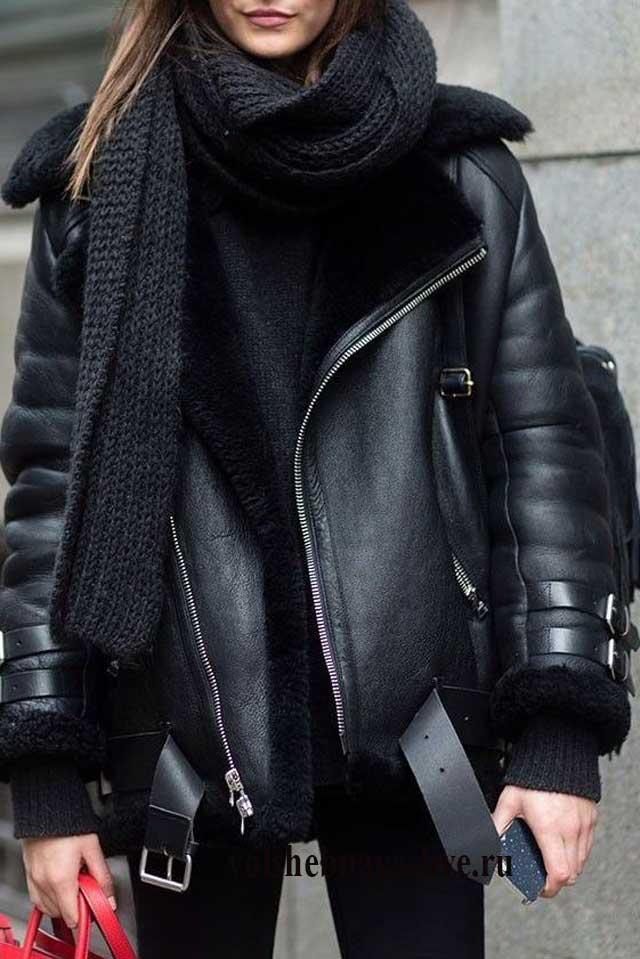 Косуха черная с покрытием