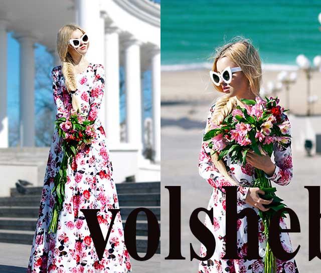 модные образы с платьями в стиле а-ля рус