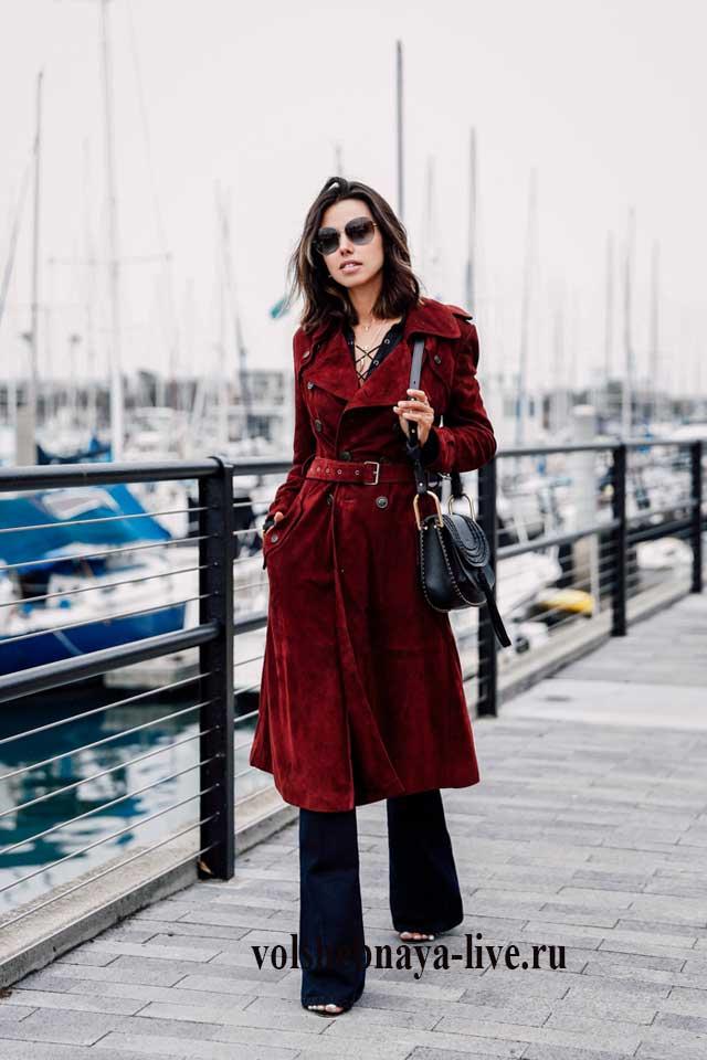 Пальто в луке Annabelle Fleur