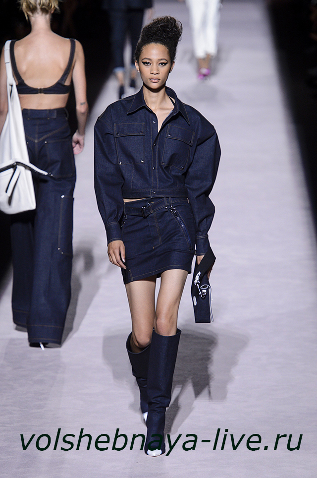 Tom Ford 2018. Джинсовая куртка