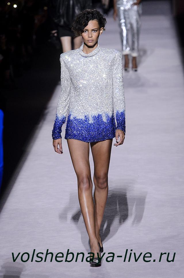 Tom Ford 2018 мини платье в пайетках