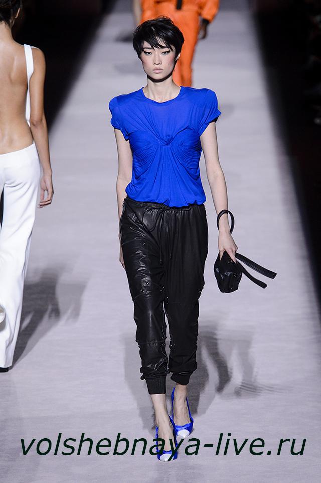 Tom Ford 2018 кожаные брюки