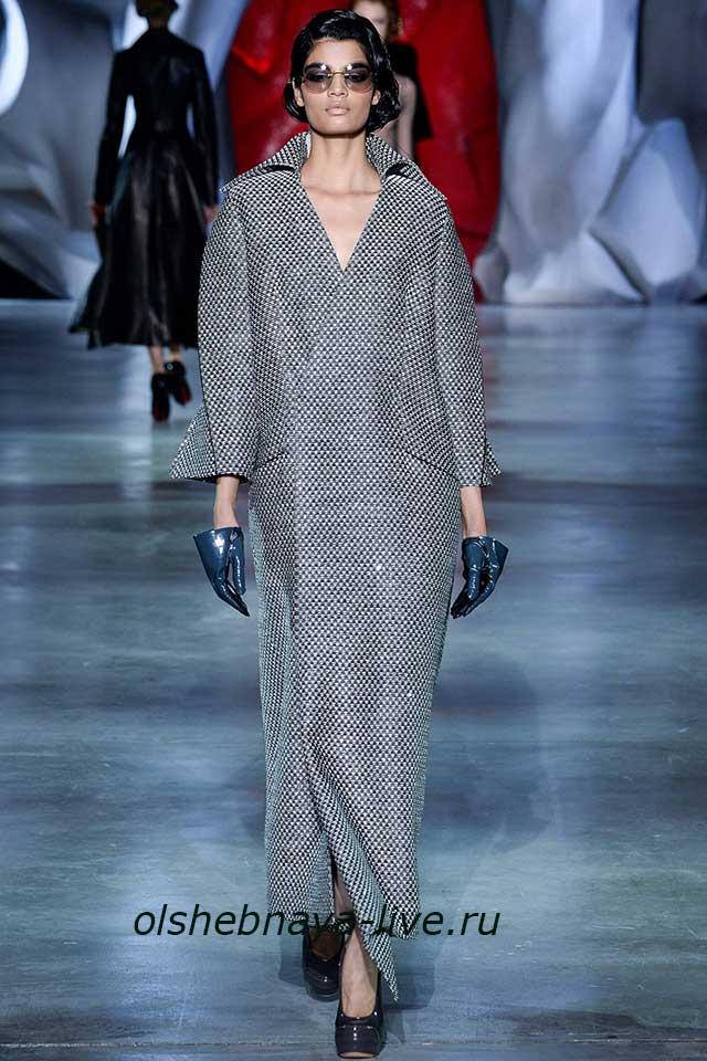 Серый цвет в моде в 2018 году