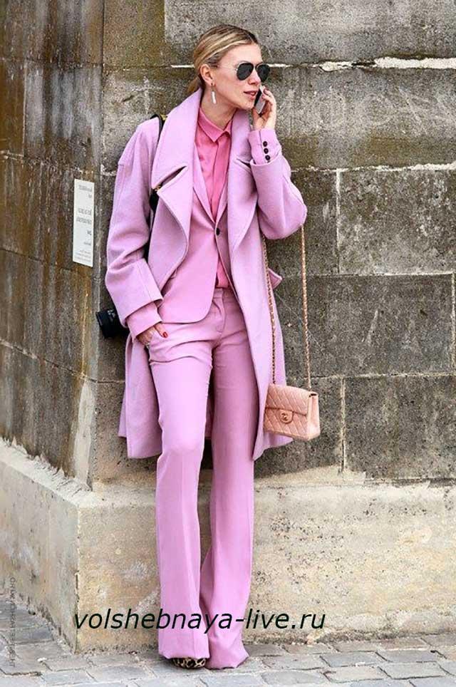 Pink Lavender Тотал лук