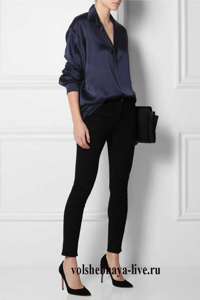 Цвет нэви сочетание с черным в одежде