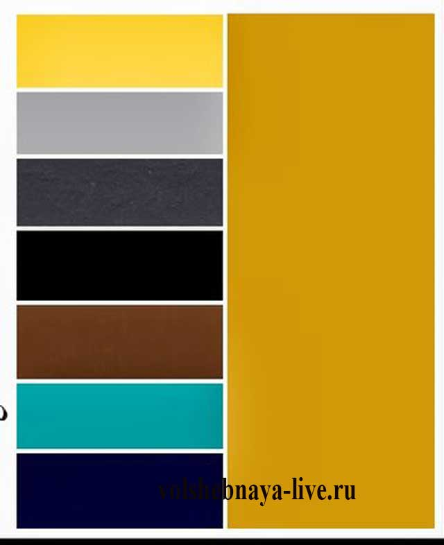 Классический горчичный цвет сочетание в одежде