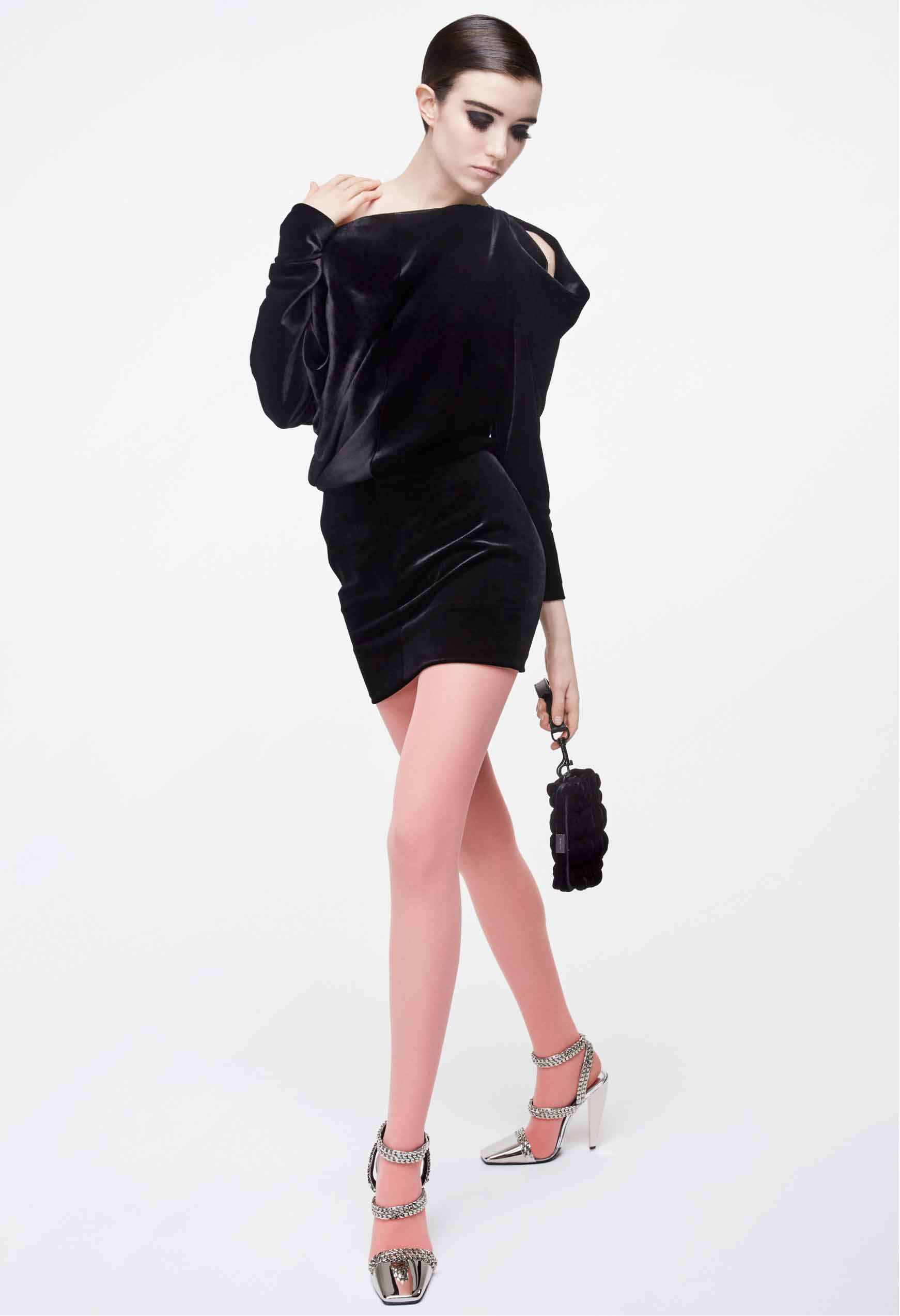 Tom Ford платье из бархата черное