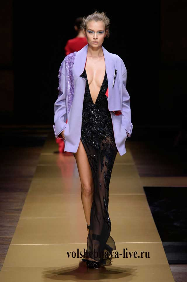 Сиреневый пиджак ля гламурных женщин