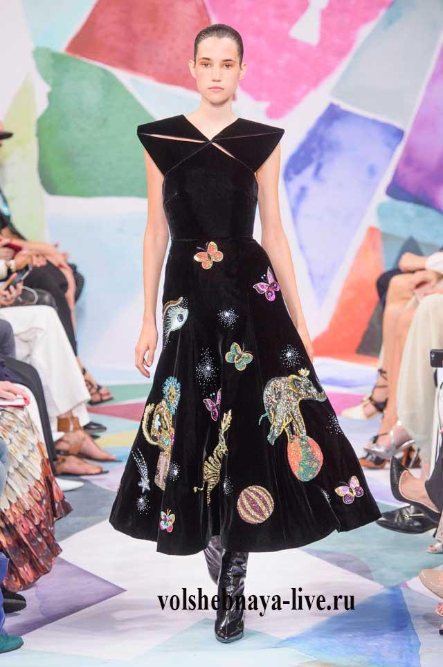 b8fa316b2ad Бархатное платье с чем носить модный тренд нового сезона. Фото ...