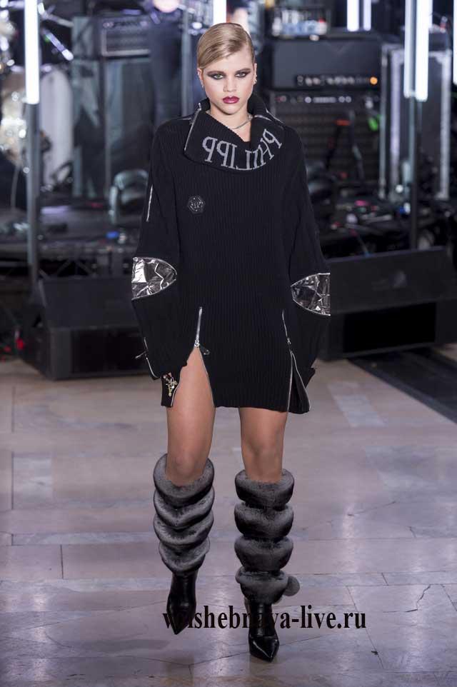 Дизайнерское свитер платье