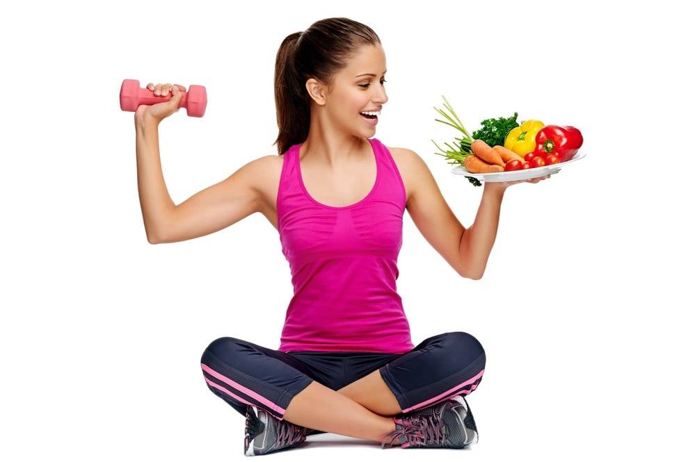 Здоровый и стабильный правильный образ жизни  у женщины