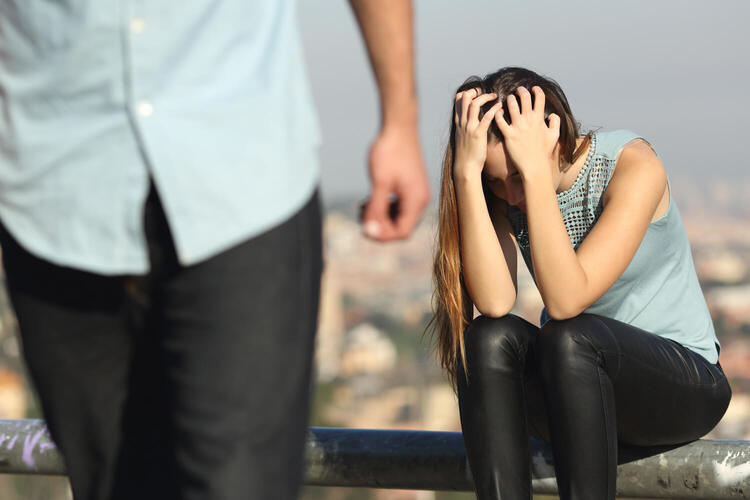 Основные причины расставания с мужем