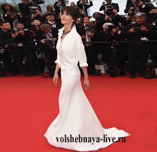 Софи Марсо в платье от Vauthier