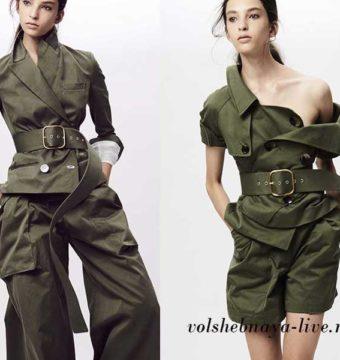 Пиджаки и жакеты цвета хаки-с чем носить стильную вещь?