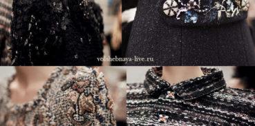 Идеи от Шанель как украсить пиджак