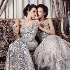 Платье с пайетками 2019 мода блестеть.