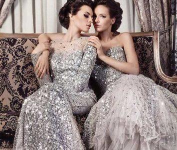 Платье с пайетками 2018 мода блестеть.