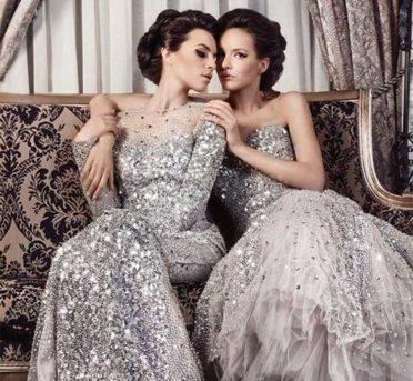 платье с пайетками 2017