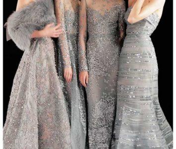 Блестящее платье серебряного цвета в пол и ты королева вечера!