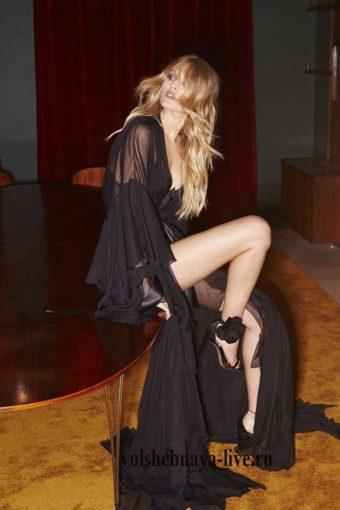 Черное, прозрачное платье в пол от Alexandre Vauthie зима лукбук 2017