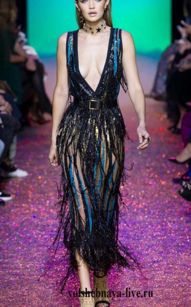 Платье Элли Сааб ready to wear Весна 2017