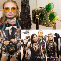 Elie Saab показ коллекции весна 2017 ready to wear
