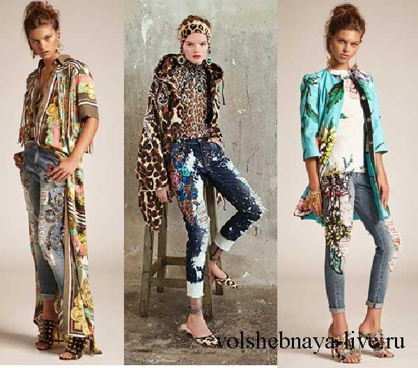 С чем носить модные джинсы с вышивкой