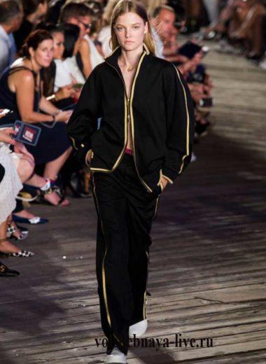 Черный спортивный костюм Hilfiger fashion 2016