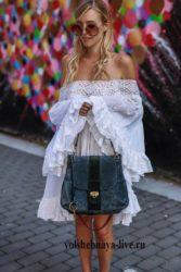 Белое летнее платье разлетайка короткое